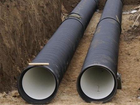 Из какой трубы нужно делать наружную канализацию